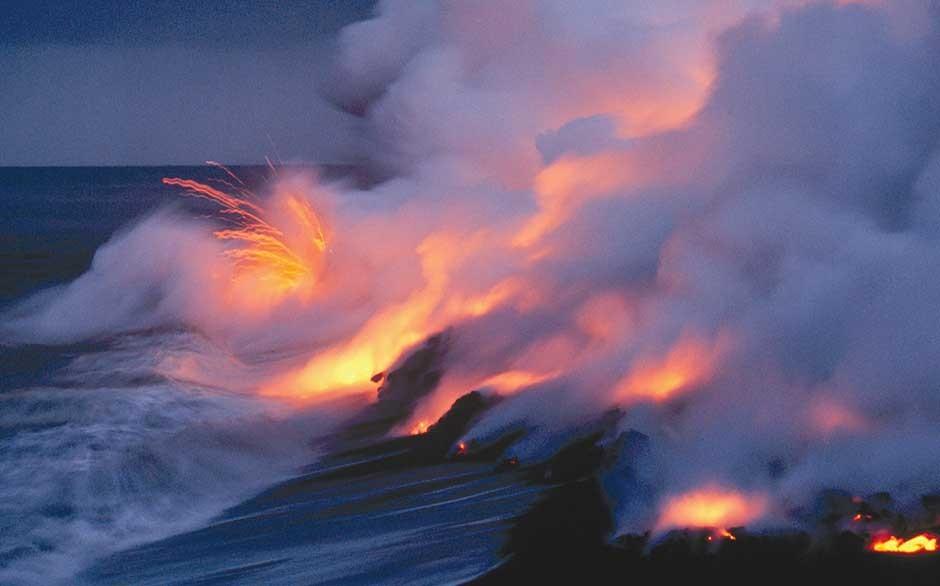 kilauea volcano in hawaii